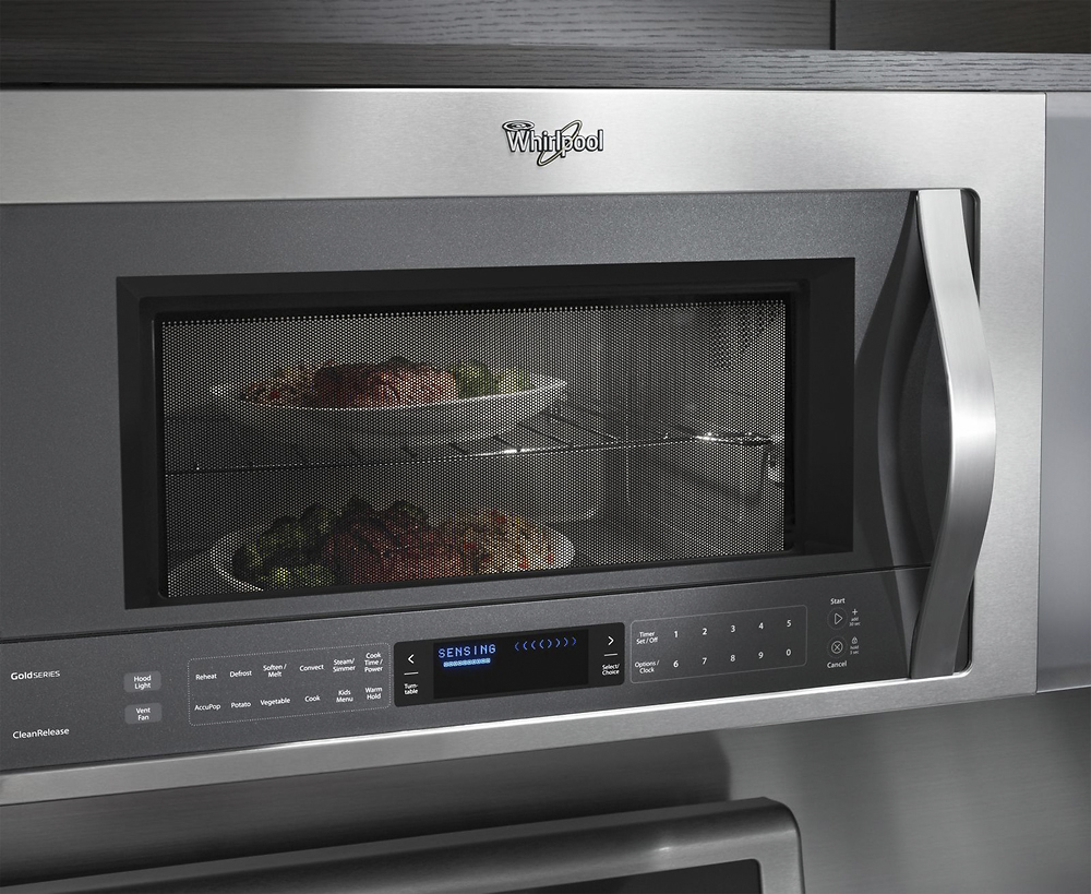 Whirlpool 1 9 Cu Ft Over The Range Microwave Stainless Steel At Pacific S