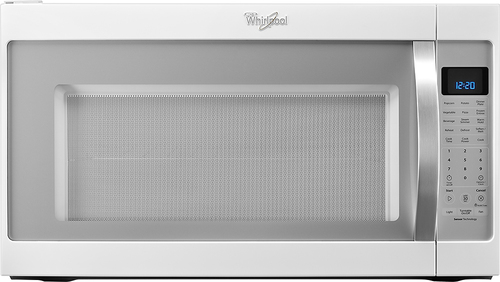 Whirlpool - 2.0 Cu. Ft. Over-the-Range Microwave - White Ice