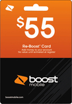 Boost Mobile - $55 Re-boost Card - Multi