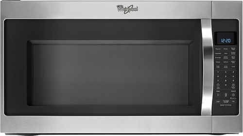 Whirlpool - 2.0 Cu. Ft. Over-the-Range Microwave - Stainless-Steel