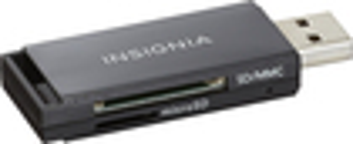 Insignia™ - USB 2.0 SD/MMC Memory Card Reader