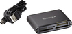 Insignia™ - USB 2.0 Multiformat Memory Card Reader - Black