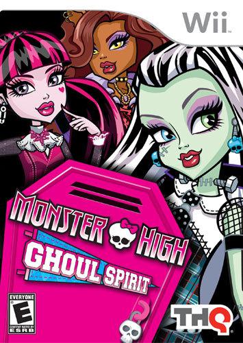Monster High Ghoul Spirit - Nintendo Wii
