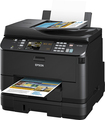 Epson - WorkForce Pro 4540 Wireless All-In-One Printer - Black