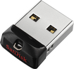 SanDisk - Cruzer Fit 16GB USB 2.0 Flash Drive - Black