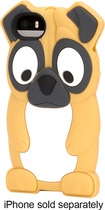 Griffin Technology - KaZoo Pug Case for Apple® iPhone® 5 and 5s - Brown