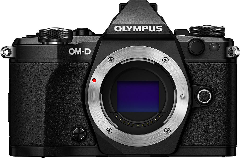Olympus - OMD E-M5 Mark II Mirrorless Camera (Body Only) - Black