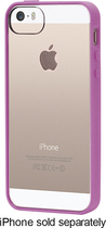 Griffin Technology - Reveal Case for Apple® iPhone® 5 and 5s - Radiant Orchid