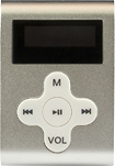 Mach Speed - 4GB* MP3 Player - Silver