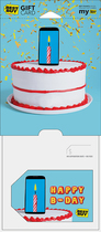Best Buy Gc - $75 Smart-candle Birthday Gift Card