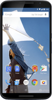 Motorola - Nexus 6 4G LTE with 32GB Memory Cell Phone - Midnight Blue (Verizon Wireless)