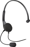 Insignia™ - Wired Chat Headset for PlayStation 3 - Black