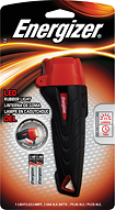 Energizer - Rubber LED Light - Red/Black