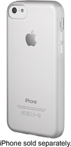 Insignia™ - Soft-Shell Case for Apple® iPhone® 5c - Clear