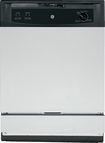 """GE - SpaceMaker 24"""" Built-In Dishwasher - Stainless-Steel"""