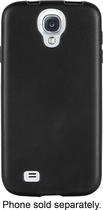 Insignia™ - Soft-Shell Case for Samsung Galaxy S 4 Cell Phones - Black