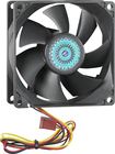 Insignia™ - 80mm Case Cooling Fan - Black