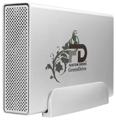 Fantom Drives - GreenDrive 3 3TB External USB 3.0 Hard Drive - Silver