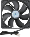 Insignia™ - 120mm Case Cooling Fan - Black
