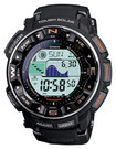 Casio - Pro Trek Men's Solar Atomic Watch - Black