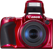 Canon - PowerShot SX410 20.0-Megapixel Digital Camera - Red