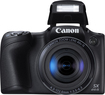 Canon - Powershot Sx410 20.0-megapixel Digital Camera - Black