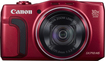 Canon - PowerShot SX710 HS 20.3-Megapixel Digital Camera - Red