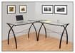 Calico Designs - Jameson Ls Executive Workcenter - Black
