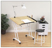 Studio Designs - Craft Center - White/Maple