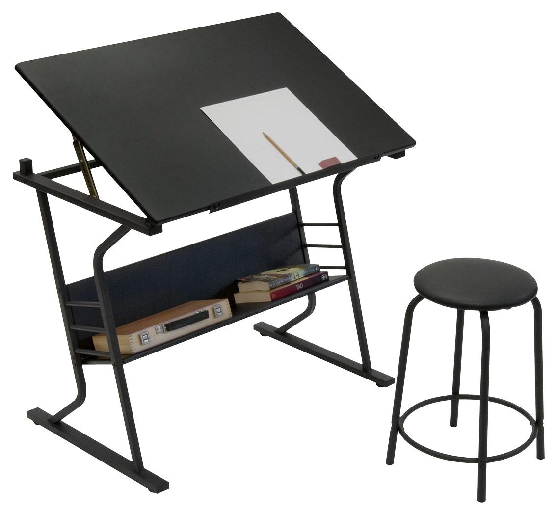 Studio Designs - Eclipse Craft Table - Black