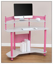 Calico Designs - Corner Computer Desk - Pink