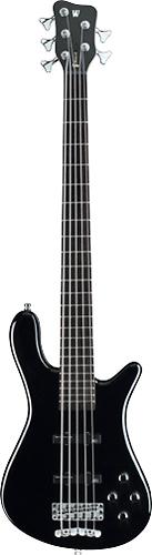 Warwick - Rockbass Streamer LX 5-String Full-Size Electric Bass Guitar - Black