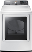 Samsung - 7.4 Cu. Ft. 11-Cycle Gas Dryer - White