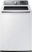 Samsung - 4.5 Cu. Ft. 11-Cycle High-Efficiency Top-Loading Washer - White