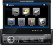 "Power Acoustik - 7"" - CD/DVD - Bluetooth-Ready - In-Dash Deck with Detachable Faceplate - Black"