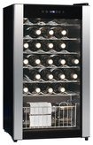 Equator - 33-Bottle Wine Cooler - Black