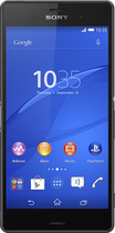 Sony - Xperia Z3 4G Cell Phone with 16GB Memory (Unlocked) - Black