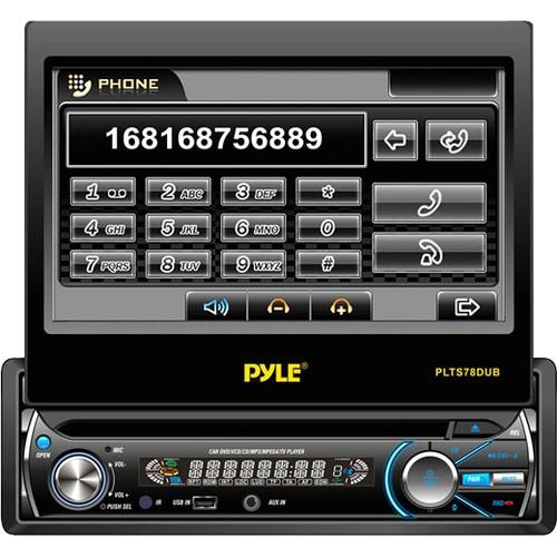 Pyle - Car Audio/Video Plts78Dub 7 Single Din Detach Touch Screen