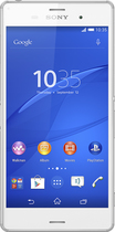 Sony - Xperia Z3 4G Cell Phone with 16GB Memory (Unlocked) - White