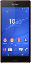 Sony - Xperia Z3 4G Cell Phone with 16GB Memory (Unlocked) - Copper