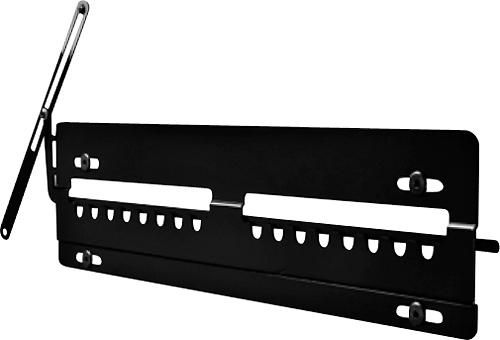 Peerless - Flat TV Wall Mount for Most 23 - 46 Ultrathin Flat-Panel Displays - Black