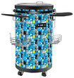 Equator - 70-Bottle Beverage Cooler - Blue