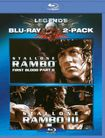 Rambo: First Blood Ii/rambo: First Blood Iii [2 Discs] [blu-ray] 3696738