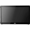 "AOC - 15.6"" Widescreen Flat-Panel USB-Powered Portable LED Monitor - Piano Black"