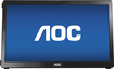 "AOC - 15.6"" Widescreen Flat-Panel USB-Powered Portable LED Monitor - Piano Black"