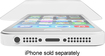 ZAGG - InvisibleShield Glass Screen Protector for Apple® iPhone® 5, 5s and 5c - Clear