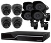 Defender - PRO SENTINEL 16-Channel, 8-Camera Indoor/Outdoor Security System