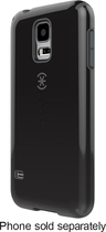 Speck - CandyShell Case for Samsung Galaxy S 5 Cell Phones - Black/Slate Gray