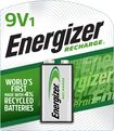 Energizer - NiMH Rechargeable Battery 9-Volt (1-Pack)