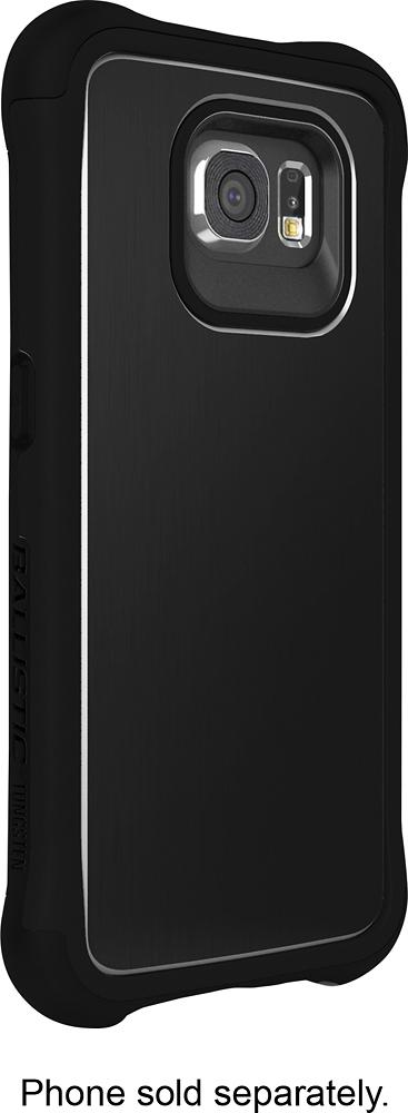 Ballistic - Tungsten Slim Case for Samsung Galaxy S6 Cell Phones - Black